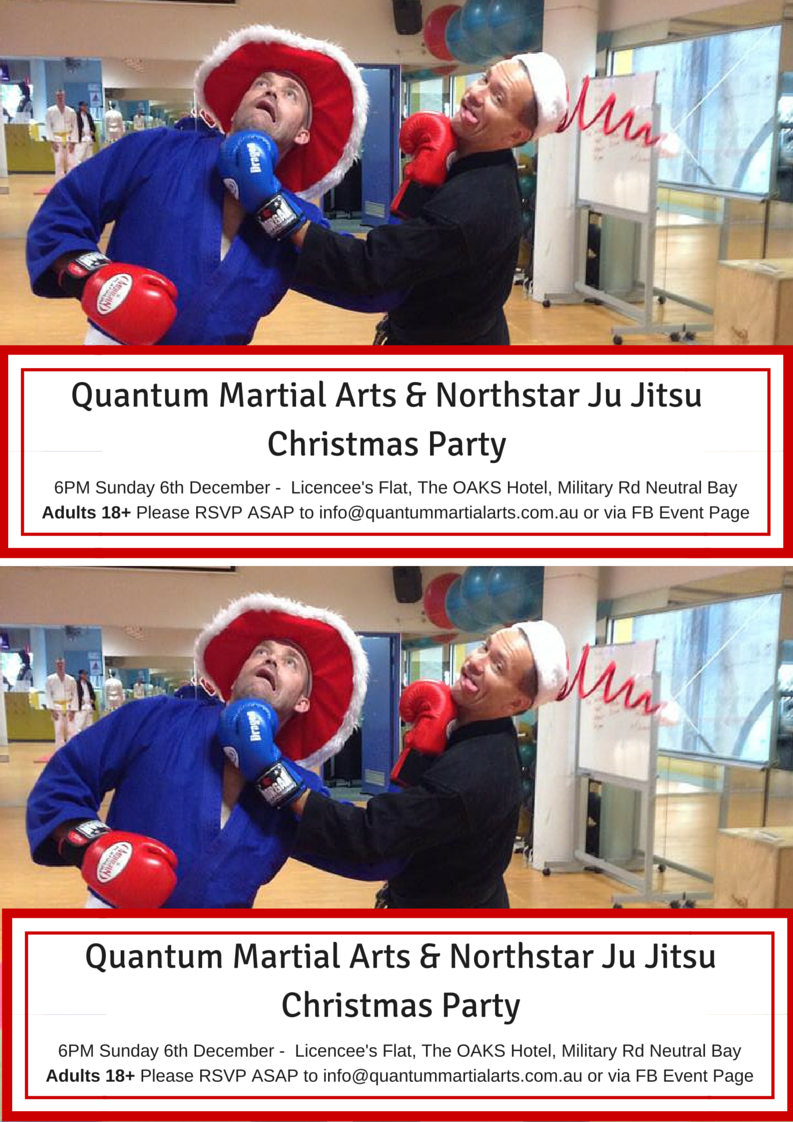 Quantum Martial Arts & Northstar Ju Jitsu Christmas Party