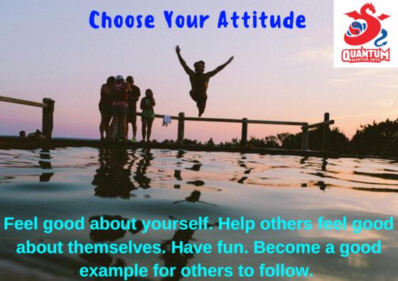 QMA - Choose Your Attitude