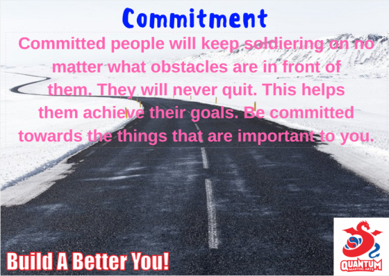QMA - Commitment