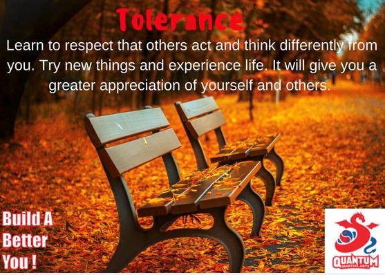 QMA - Tolerance